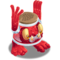 Red Prismatic Noggin