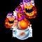 Orange Prismatic Potbelly