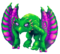 Green Prismatic Glowl