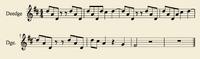 Sheetmusic Deedge Gold1