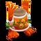 Orange Prismatic Noggin