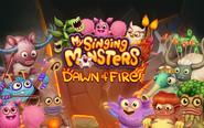 Fire BG characters