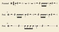 Sheetmusic Pummel Tribal1