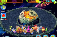 Space Island all monster