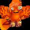 Orange Prismatic Tweedle