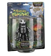 PlayMonster Skeleton Mammott and Spooktacle Travelers' Sign