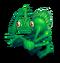 Green Prismatic Shrubb