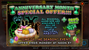Anniversary special seasonal monsters
