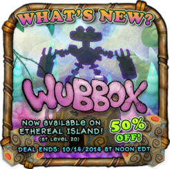 Ethereal wubbox availability