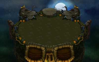 Plant Island Spooktacle Empty