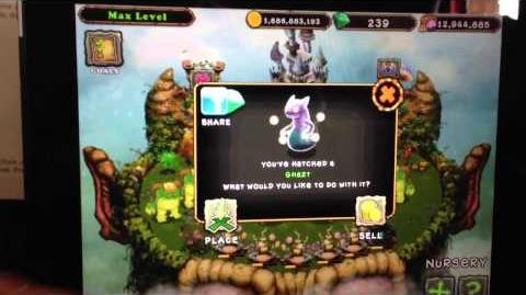 GHAZT new My Singing Monster monster!!! 1000 diamonds on Plant Island! My friend code 64094bi and friend name is Diane DelSig