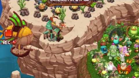 My Singing Monsters Dawn of Fire - Player with 50-diamond Skyship