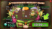 Vegetable Medley Pack