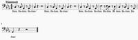 Sheetmusic Mammot Track one