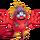 Red Prismatic Tweedle