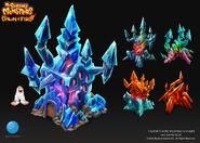Crystal 7 Castle DoF concept art