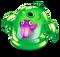 Green Prismatic Spunge