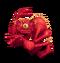Red Prismatic Shrubb