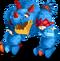 Blue Prismatic T-Rox