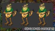 ShugaBush concept art