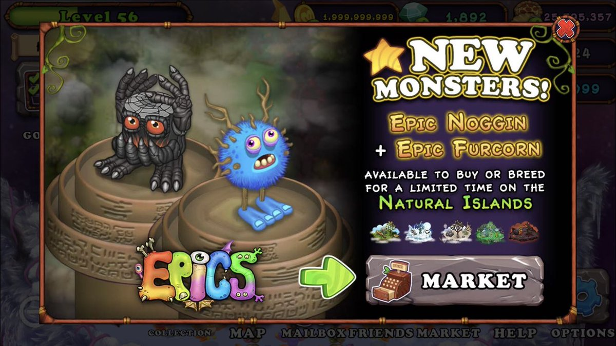 category epic monsters