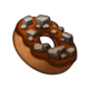 Crafting Item Rocky Road Donut