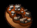Rocky Road Donut