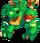 Green Prismatic T-Rox