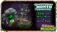 Mine and Unity Tree Sale News