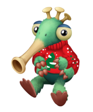 ACF floogull baby christmas