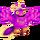 Purple Prismatic Tweedle
