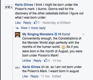 Constellation correlation