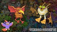 Tweedle concepts