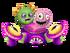 Purple Prismatic Thumpies
