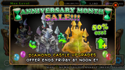 Anniversary 2015 Castle deal