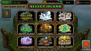 Select tribal island