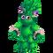 Green Prismatic Kayna