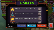 Mailbox info initial