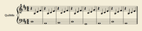 Sheetmusic Quibble Gold1