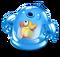 Blue Prismatic Spunge