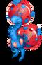 Blue Prismatic Dandidoo