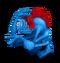Blue Prismatic Shrubb