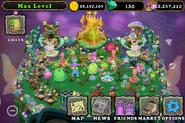 Eggs-Travaganza decorated Water Island