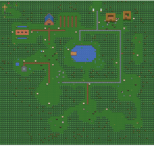 Newbie Village - Version 2 (with mobs)