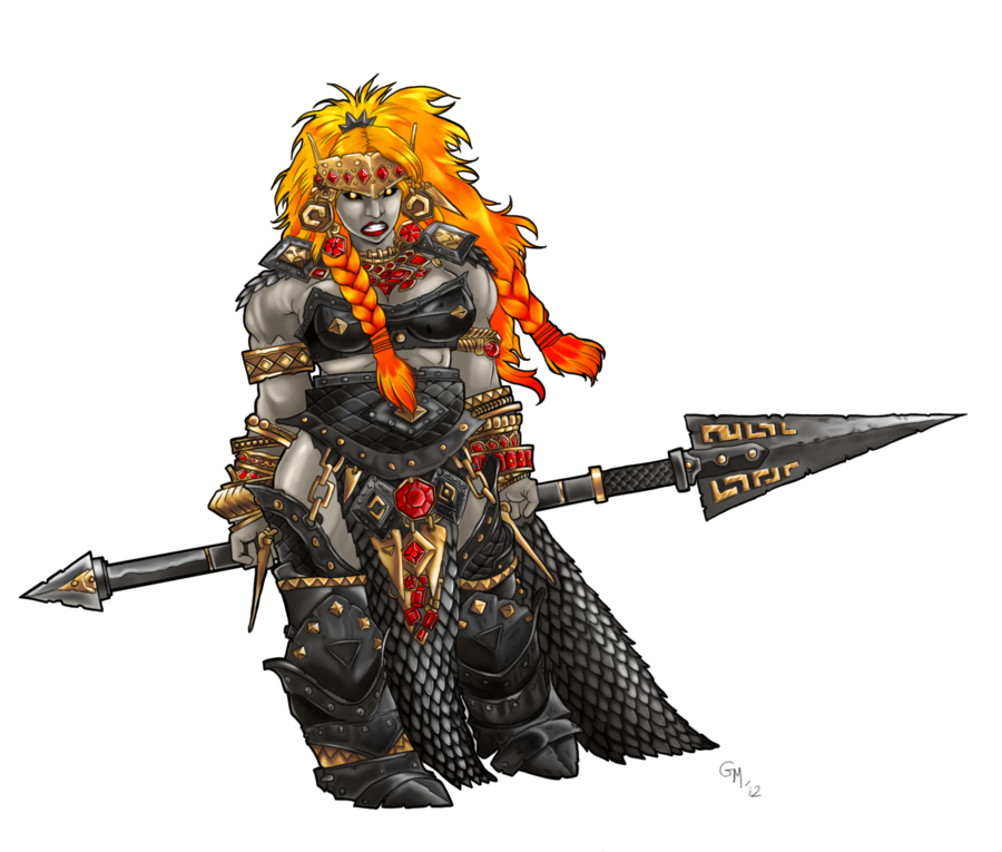 Image - Fire giant queen by gregmustache-d5adygi.png ...