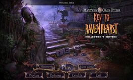 Mystery Case Files - Key To Ravenhearst