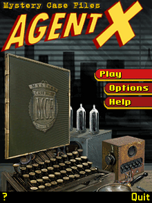 727477-mystery-case-files-agent-x-j2me-screenshot-menu