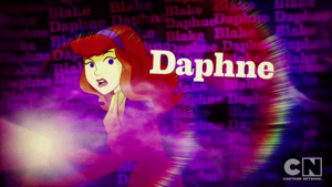 Daphne Blake's picture card