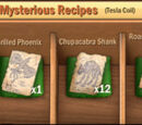 Mysterious Recipes