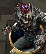 Werewolf-biker